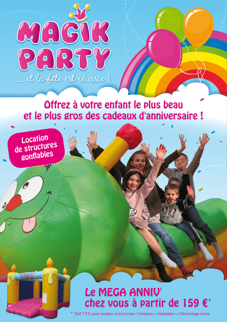 Logo et Flyers - Magik Party