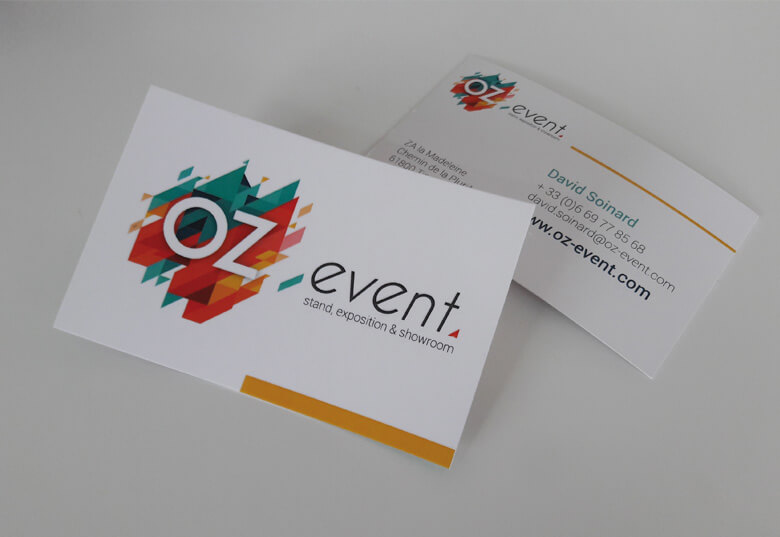 Cartes De Visite OZ Event